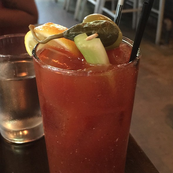Bloody Mary @ Leon's Oyster Shop