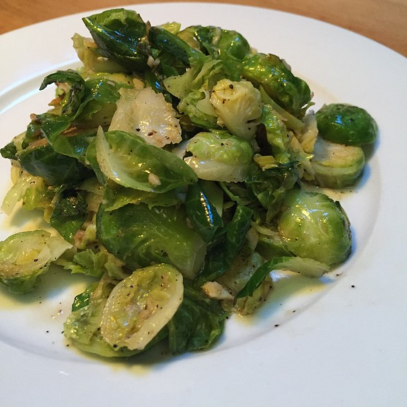 Brussel sprouts @ Parkside Grille