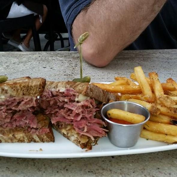 Pastrami Reuben Sandwich @ Howells & Hood