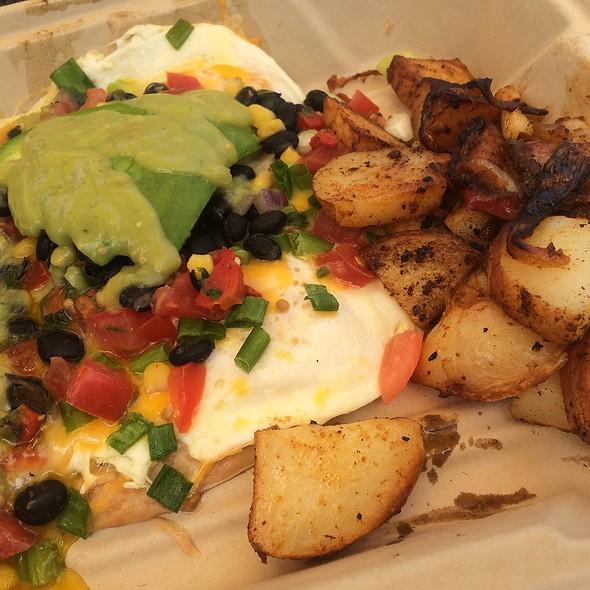 Huevos rancheros @ Ideal Bar & Grill