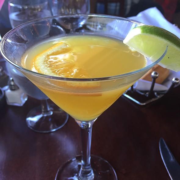 Orange Ginger Martini - Glen Ellen Inn Oyster Grill & Martini Bar, Glen Ellen, CA