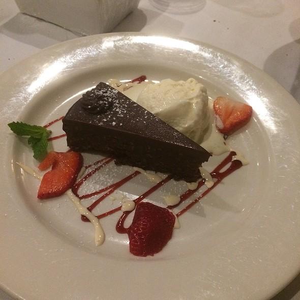 Flourless Chocolate Torte - Lorenzo's Trattoria, St. Louis, MO