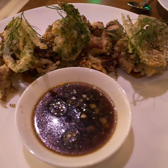 Salt And Pepper Fried Squid @ Mister Jiu's