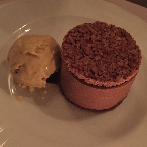 Chocolate Peanut Butter Mousse - Red Cat, New York, NY