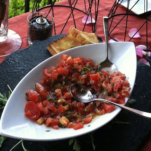 Bruschetta - Solare Ristorante Lounge, San Diego, CA