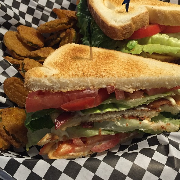The Double Decker BLT @ Northside Cafe