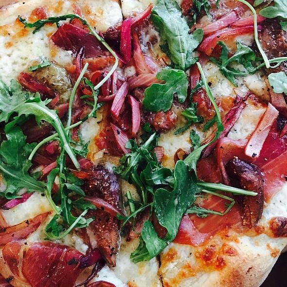 Roasted Fig & Prosciutto Pizza - Monti's Rotisserie & Bar, Santa Rosa, CA