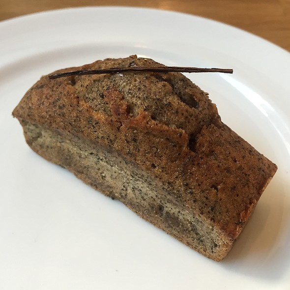 Roasted Tea Pound Cake @ Fika Fika Cafe