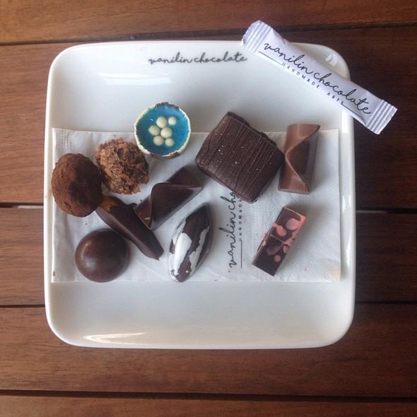 Handmade Chocolates @ Vanilin Chocolate