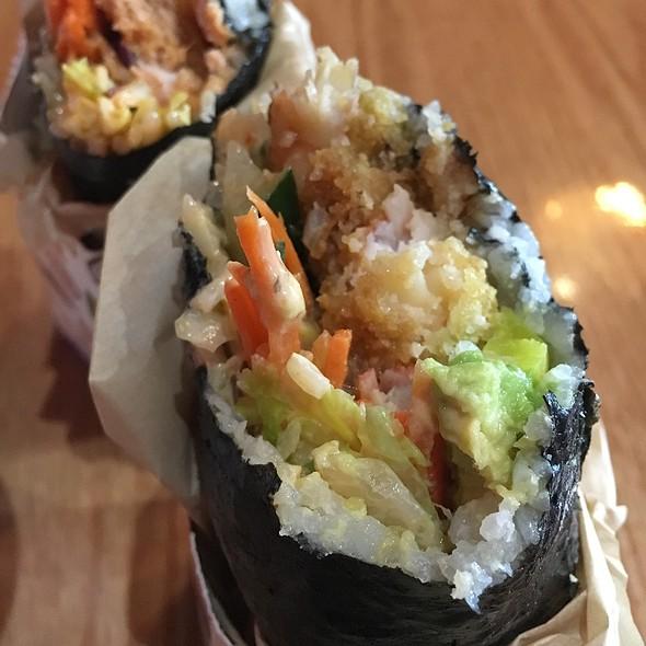 Shrimp Tempura Sushi Roll @ Sushi Burrito