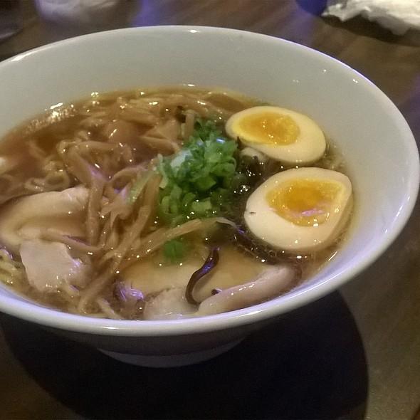 Shoyu Ramen With Egg And Pork Belly @ Monta Noodle House