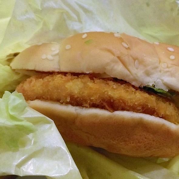 北海道三文魚堡 Hokkaido Salmon Burger @ McDonald's