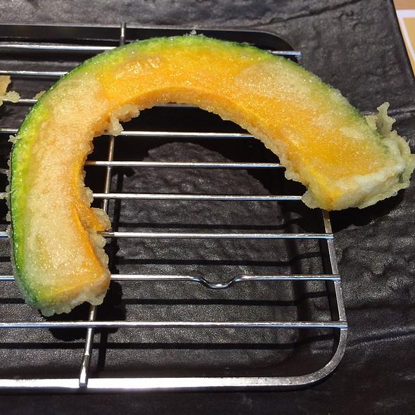 Kabocha Pumpkin Tempura @ Tempura Ichidai