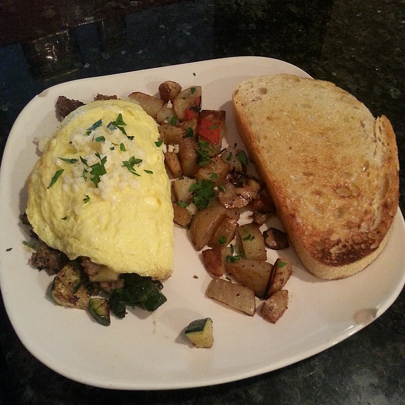 special of the day  @ The Garnet Cafe