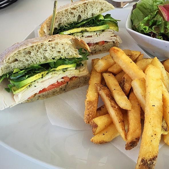 Turkey Avocado Sandwich @ Bakery And Table