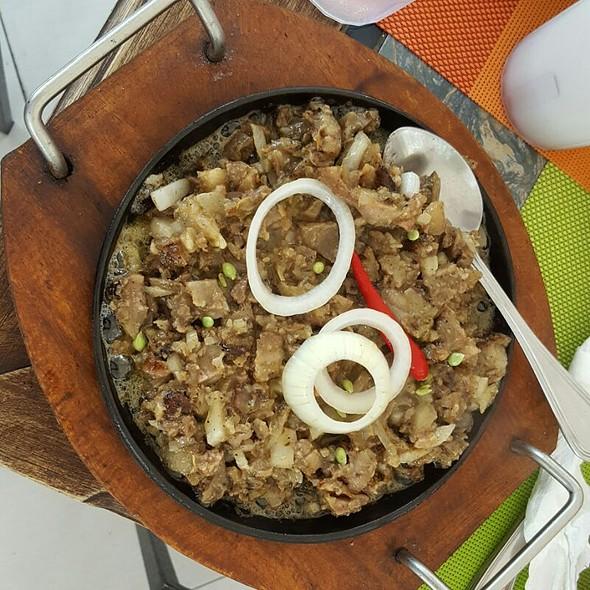 Sisig @ Matam-IH Restaurant