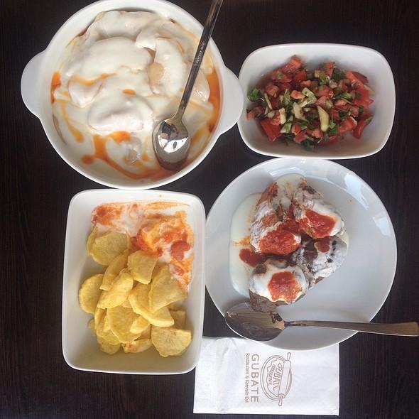 Psıhalıve (Caucasian Ravioli With Potatoes) @ Gubate Reataurant Ve Kahvaltı Evi