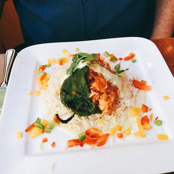 Chile Relleno @ Tequila Museo Mayahuel