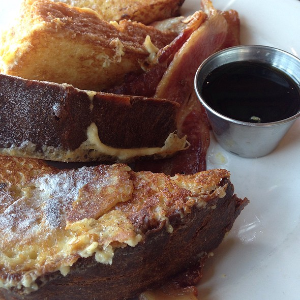 French Toast with Bacon - Northeast Social