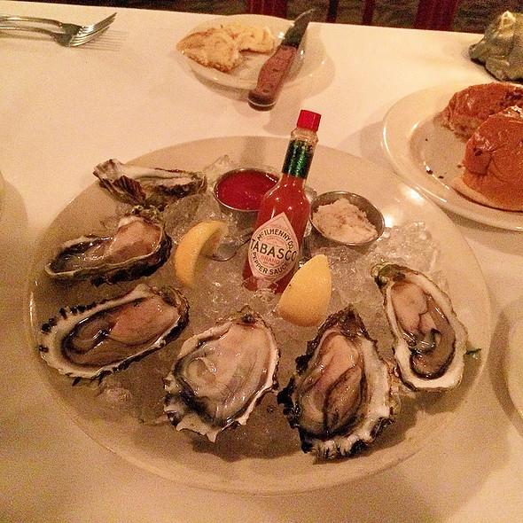 Oysters on the Half Shell - Morton's The Steakhouse - Honolulu, Honolulu, HI