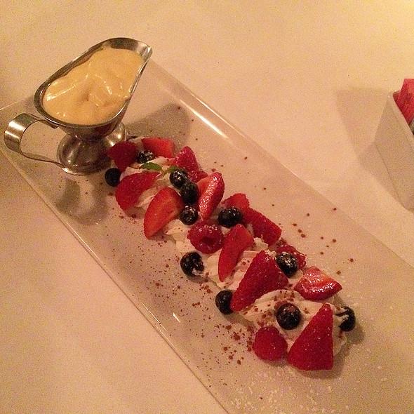 Berries with Sabayon - Morton's The Steakhouse - Honolulu, Honolulu, HI