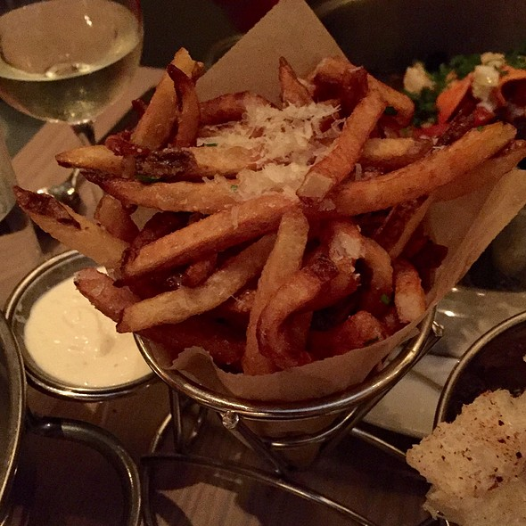 Truffle Fries @ Flex Mussels