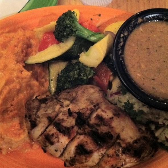 Jamaican Jerk Chicken @ Tower Cafe