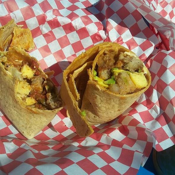 Breakfast Burrito @ Corner Store