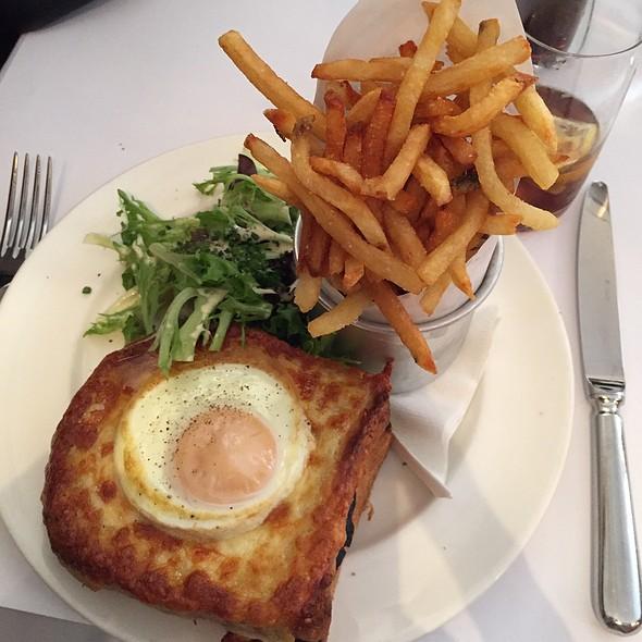 Croque Madame @ Del Frisco's Grill
