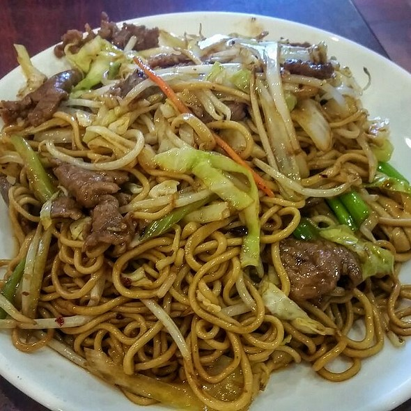 Spicy Beef Noodle With Xo Sauce @ China Magic Noodle House