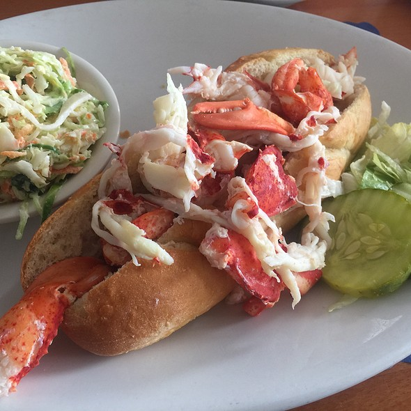 Jumbo Lobster Roll @ Haddad's Ocean Cafe
