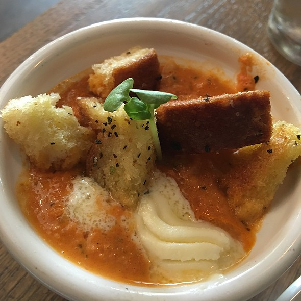 Tomato Bisque @ The Cheese Bar