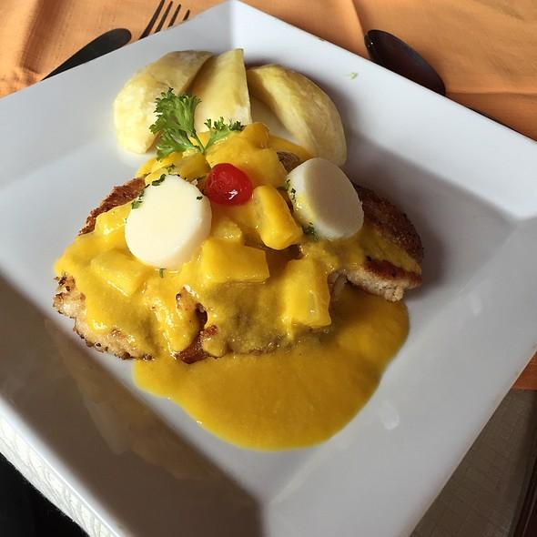 Corvina With Pineapple And Mango @ Maracuya