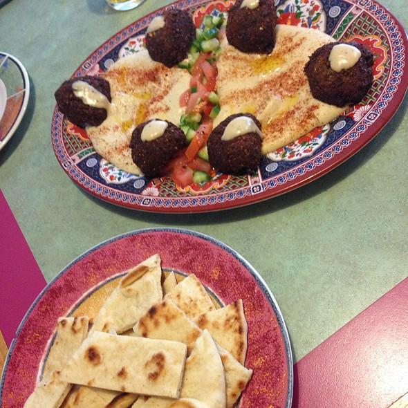 Hummus & Falafel Platter @ Cafe Paprika