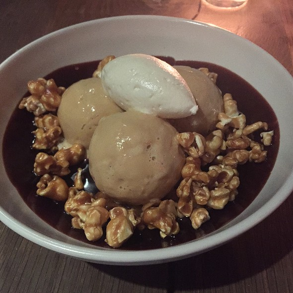 Salted Caramel Sundae @ Inn At Pound Ridge