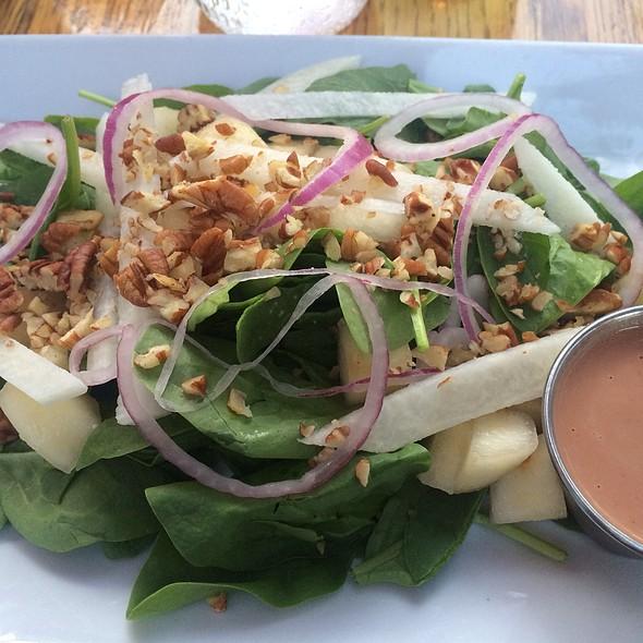 Gloria Farm's Spinach Salad - Areal Restaurant, Santa Monica, CA