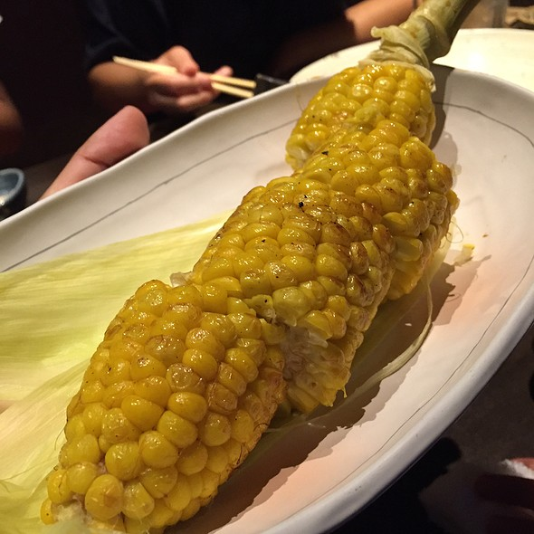 焼きトウモロコシ @ 北の味紀行と地酒 北海道 横浜西口駅前店