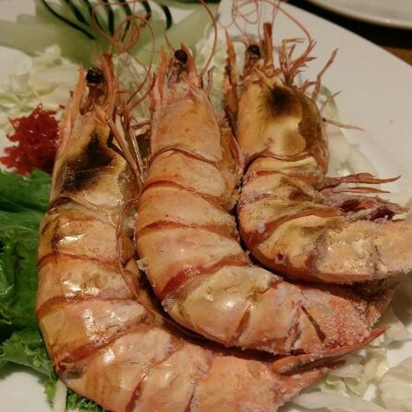 Grilled Shrimps @ 北海漁村-台北杭州店
