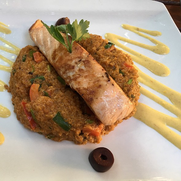 Salmon with Quinoa @ Lima56
