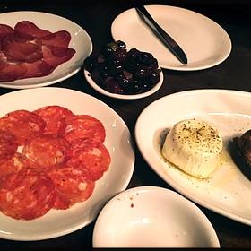 Burrata, Olives & Cured Meats