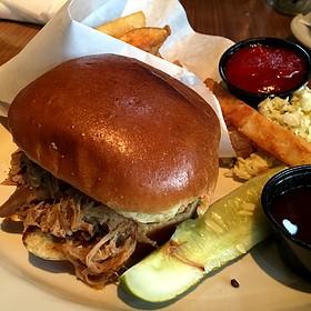 Pulled Pork Sandwich - Lagunitas Taproom & Beer Sanctuary, Charleston, SC
