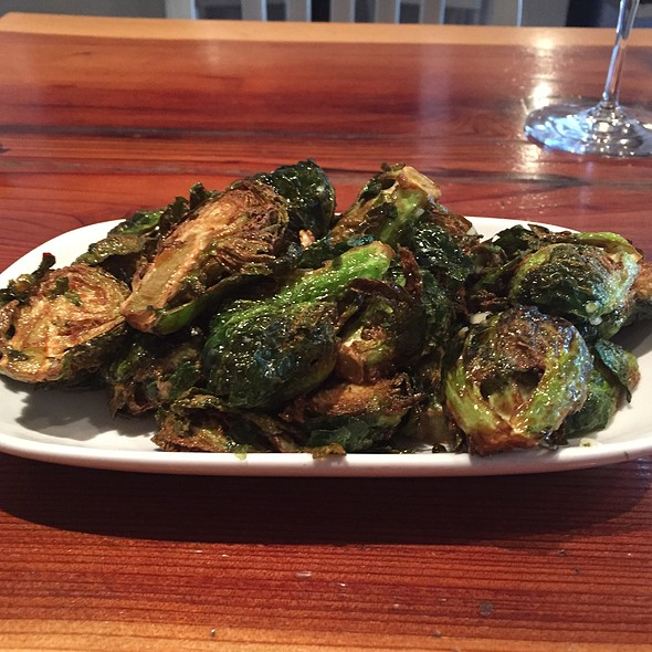 Flash Fried Brussel Sprouts @ boon eat + drink