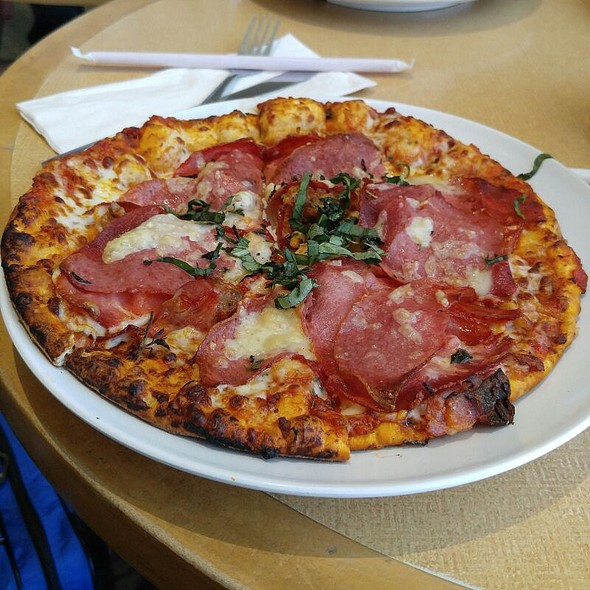 Sicilian Pizza @ California Pizza Kitchen