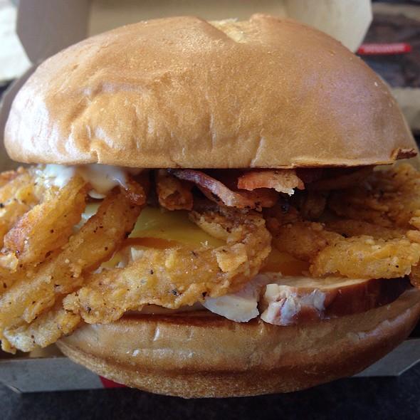 Chicken Bacon Gouda Sandwich @ Arby's