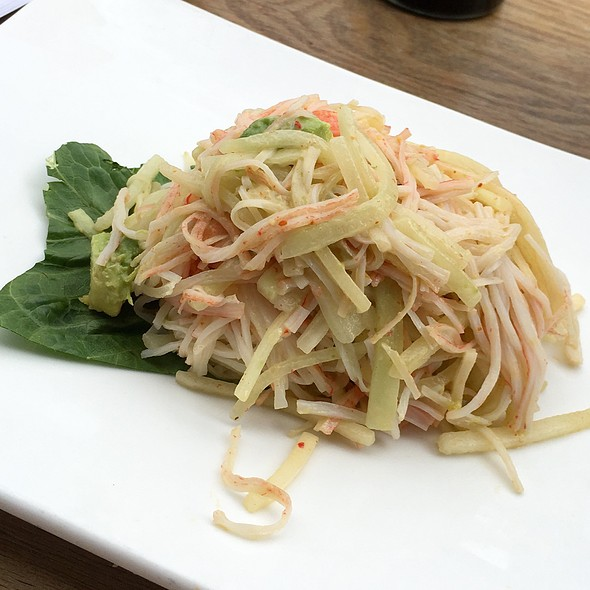 Spicy Kani Salad @ Robongi Restaurant