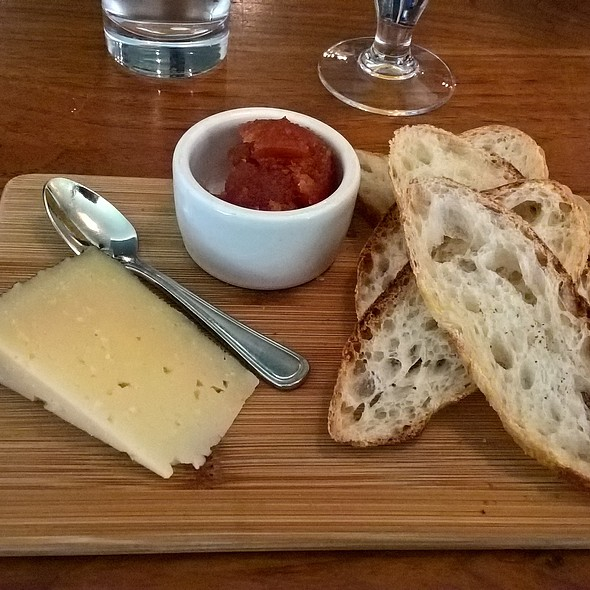 Specialty Cheese Board @ Tria