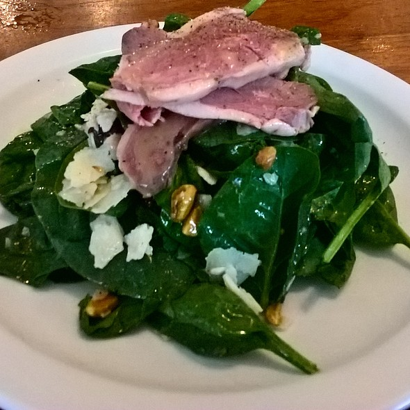 Smojed Duck and Spinach Salad @ Tria