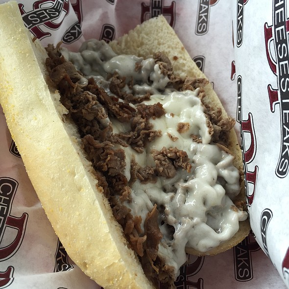 Traditional Cheesesteak Sandwich