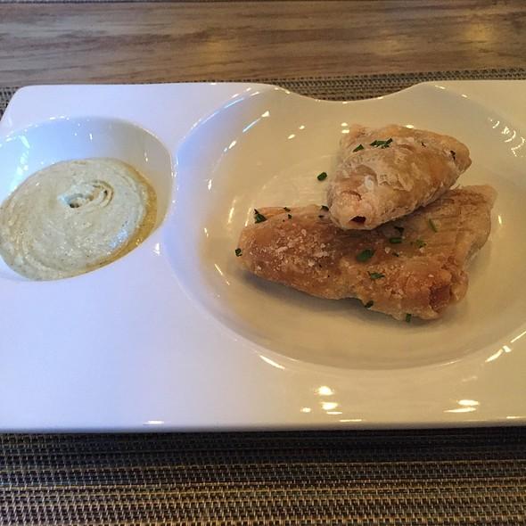 Pea Samosas @ Bradley's Fine Diner