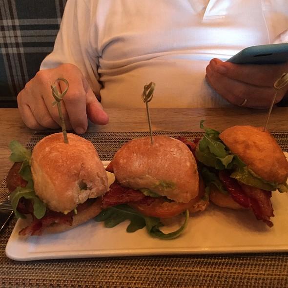 BLT sliders  @ Bradley's Fine Diner